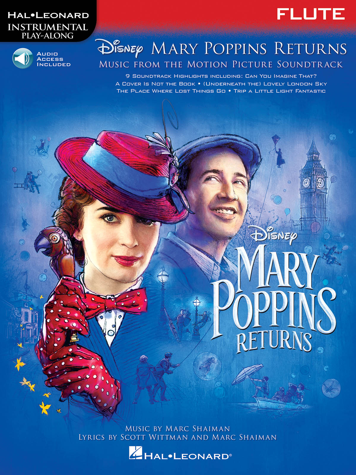 Marc Shaiman Scott Wittman: Mary Poppins Returns for Flute: Flute: Instrumental