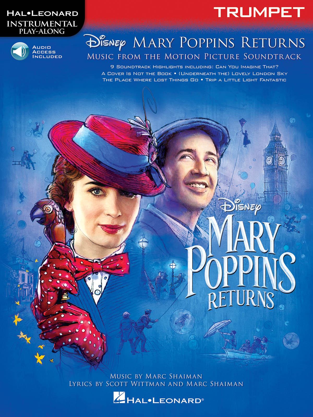 Marc Shaiman Scott Wittman: Mary Poppins Returns for Trumpet: Trumpet Solo: