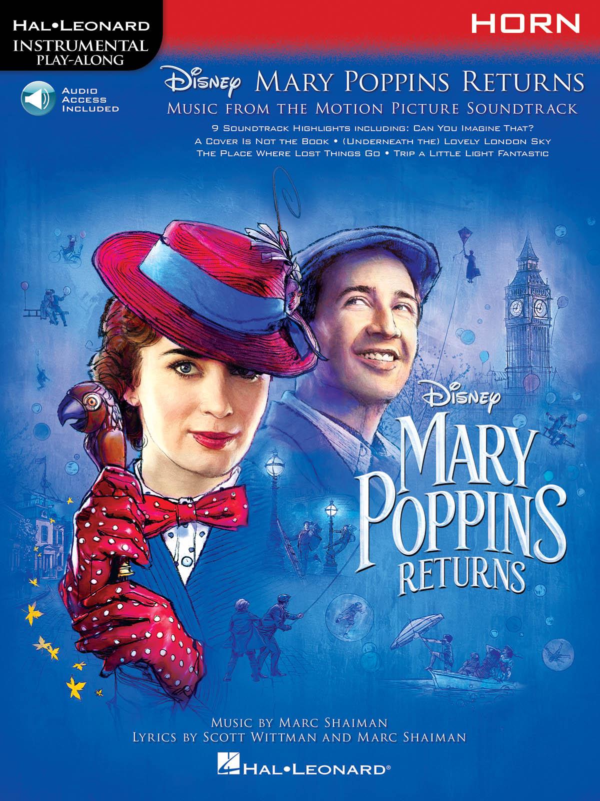 Marc Shaiman Scott Wittman: Mary Poppins Returns for Horn: French Horn Solo: