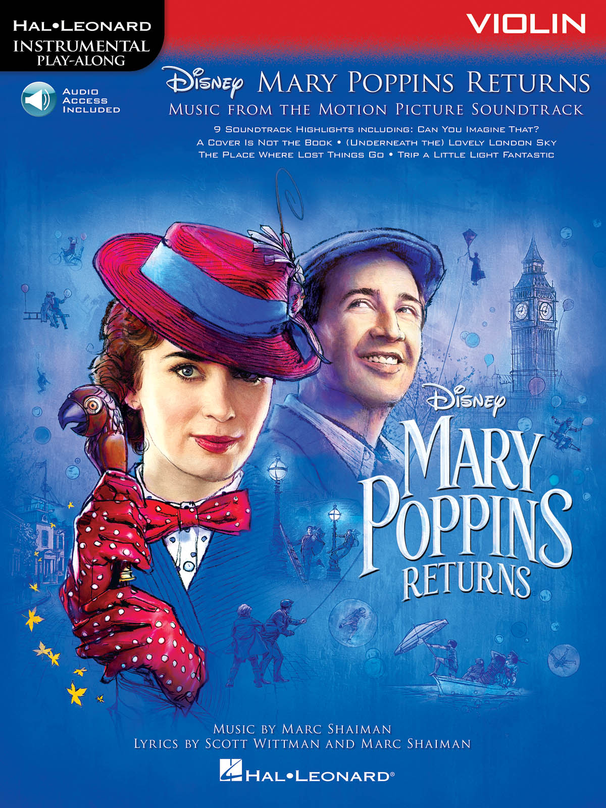 Marc Shaiman Scott Wittman: Mary Poppins Returns for Violin: Violin Solo: