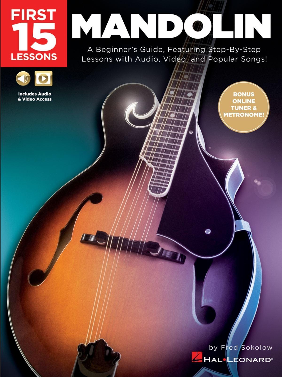 First 15 Lessons - Mandolin: Mandolin: Instrumental Tutor