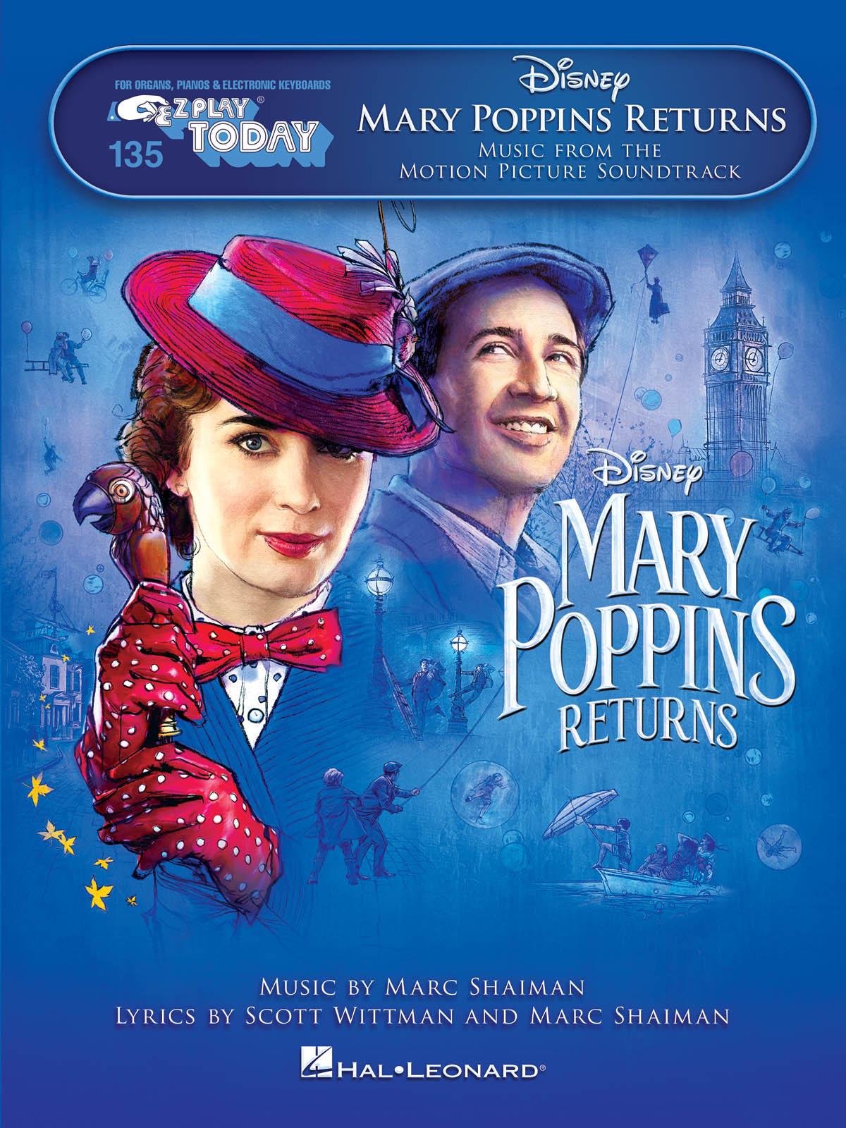 Marc Shaiman: Mary Poppins Returns: Piano: Instrumental Album