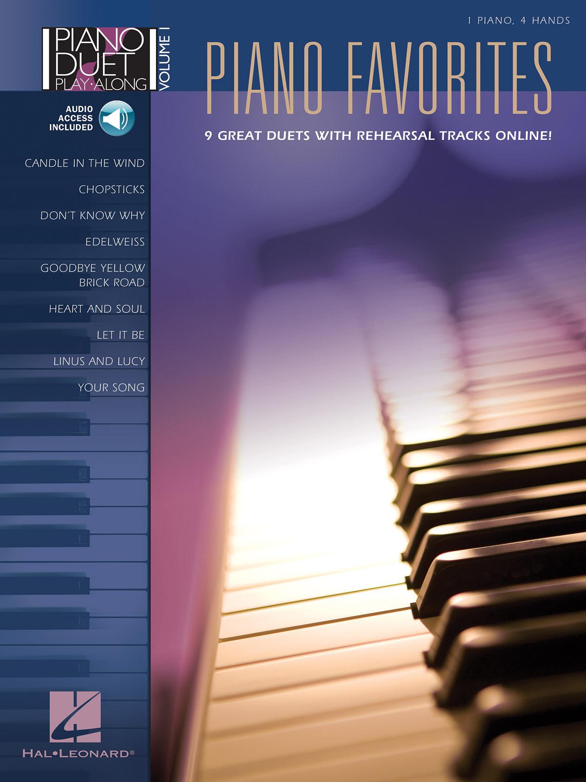 Piano Favorites: Piano Duet: Instrumental Album