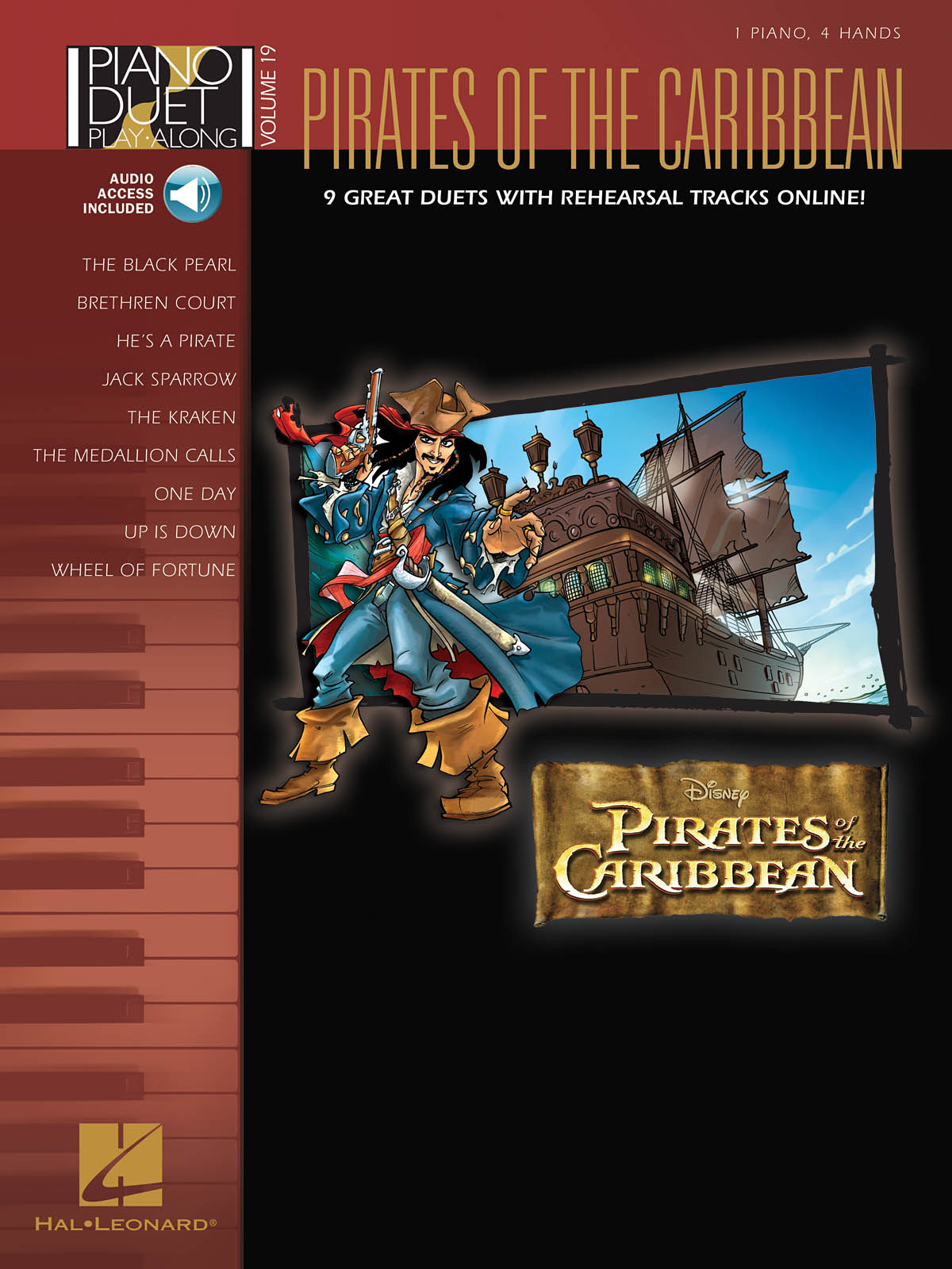 Hans Zimmer: Pirates of the Caribbean: Piano Duet: Instrumental Album