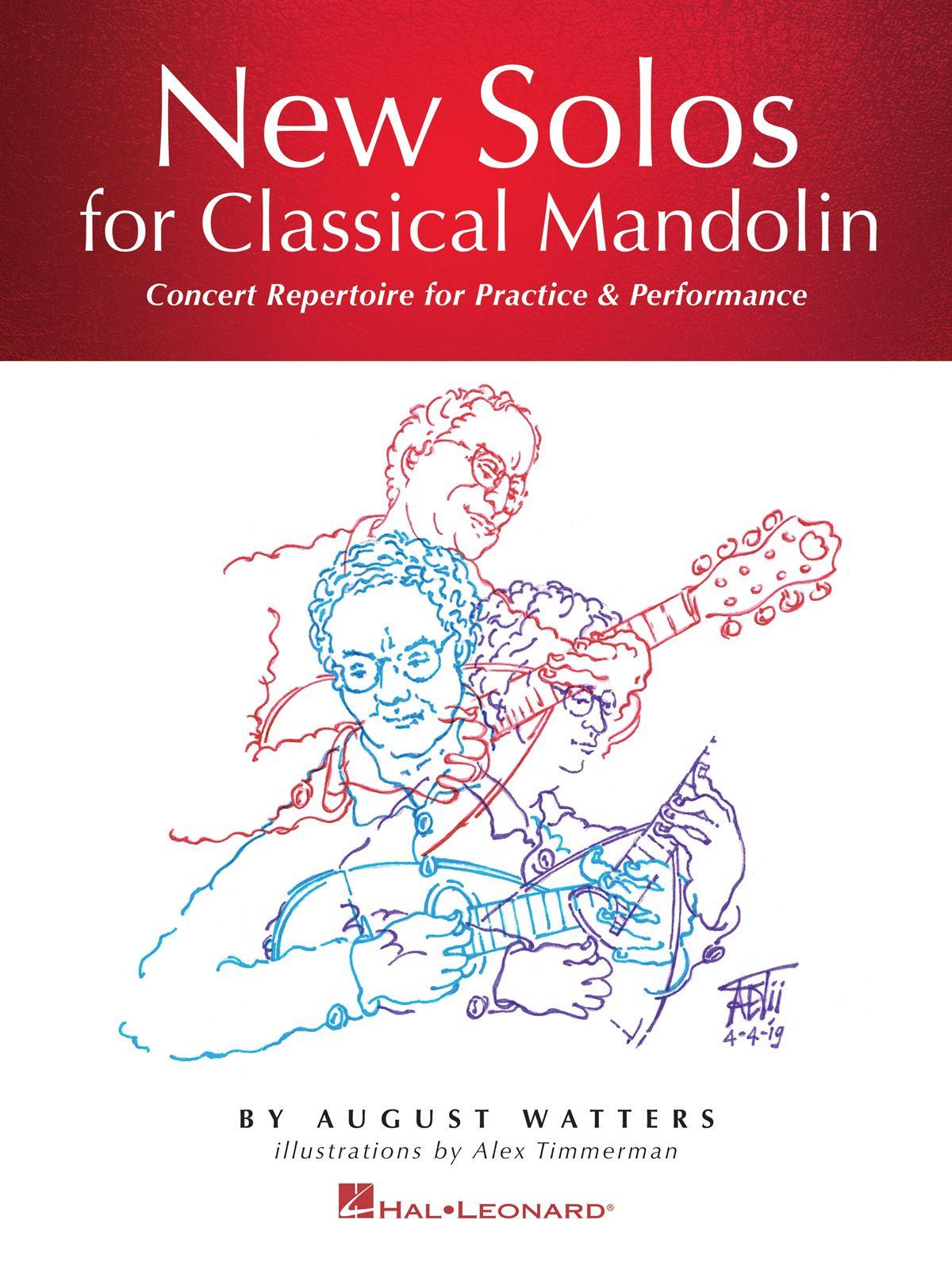 August Watters: New Solos for Classical Mandolin: Mandolin: Instrumental Album