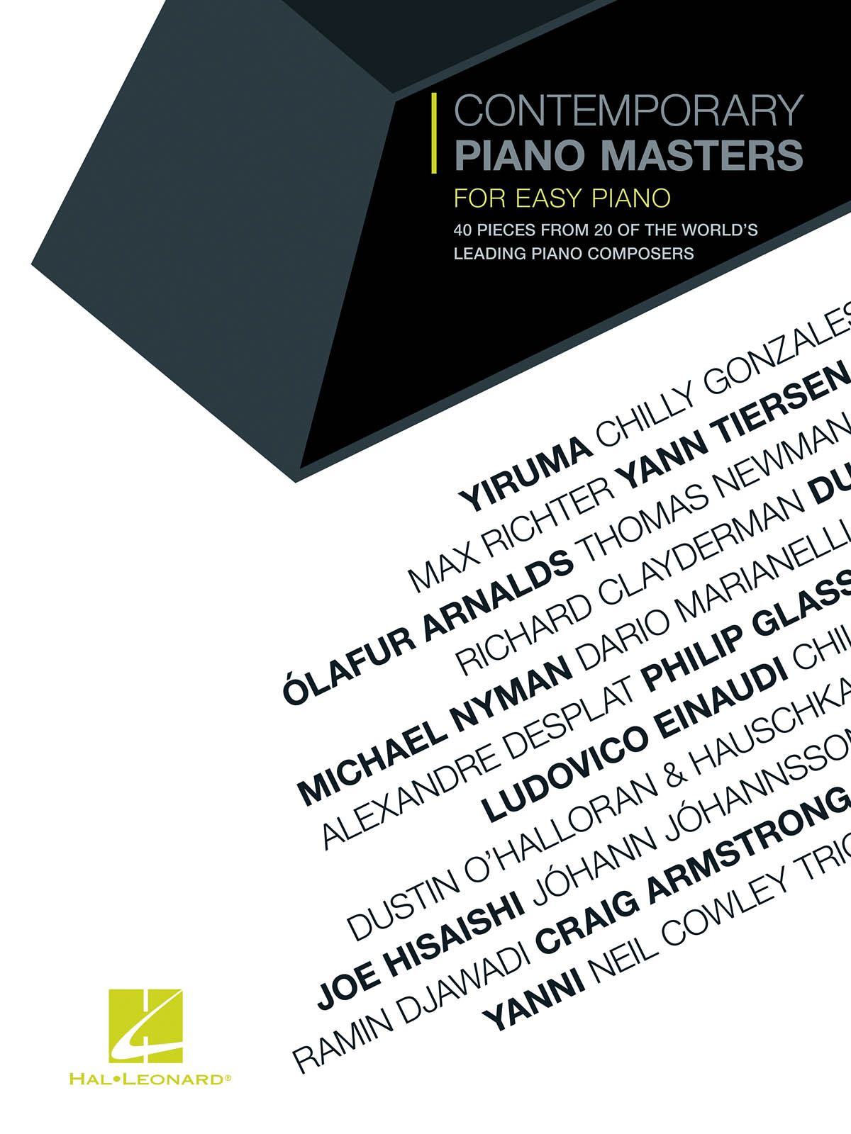 Contemporary Piano Masters for Easy Piano: Piano: Instrumental Album