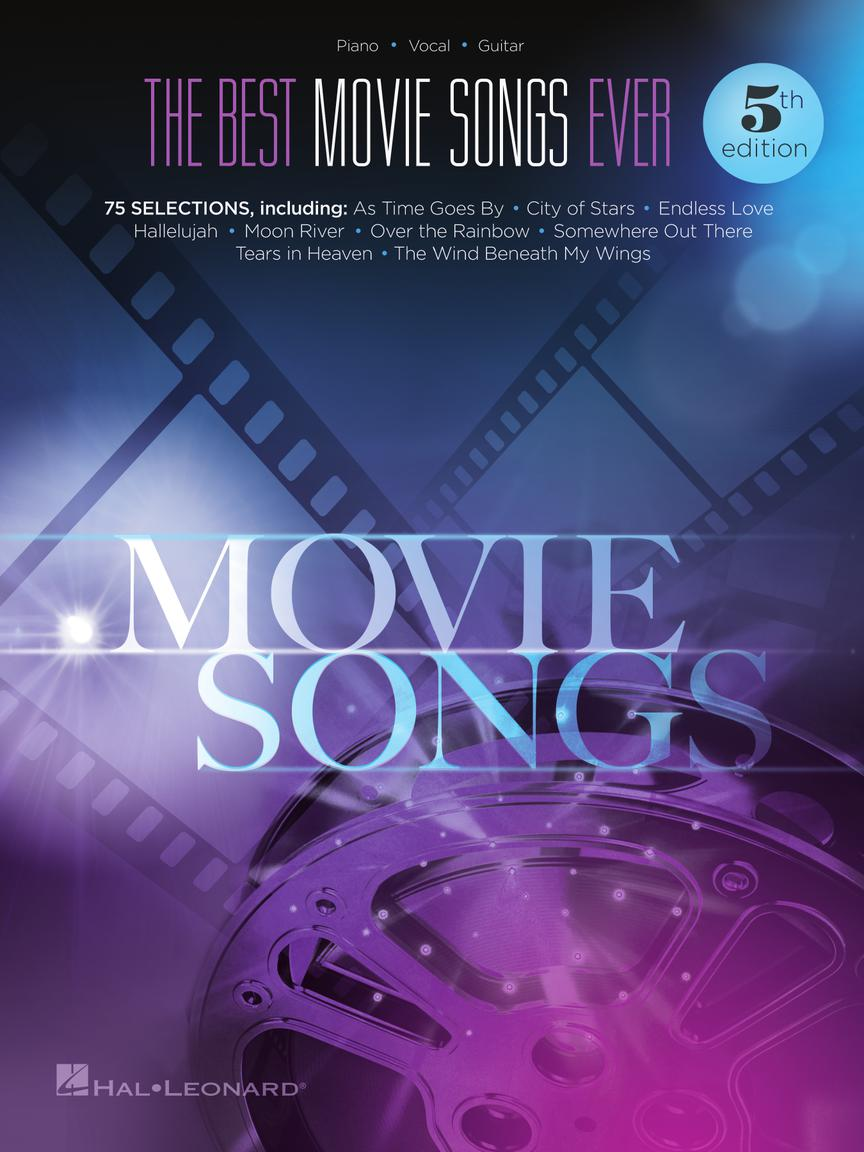 The Best Movie Songs Ever Songbook - 5th Edition: Piano  Vocal and Guitar: Mixed