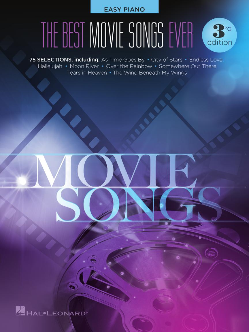 The Best Movie Songs Ever - 3rd Edition: Easy Piano: Instrumental Album