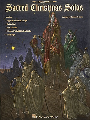 Sacred Christmas Solos: Piano: Mixed Songbook