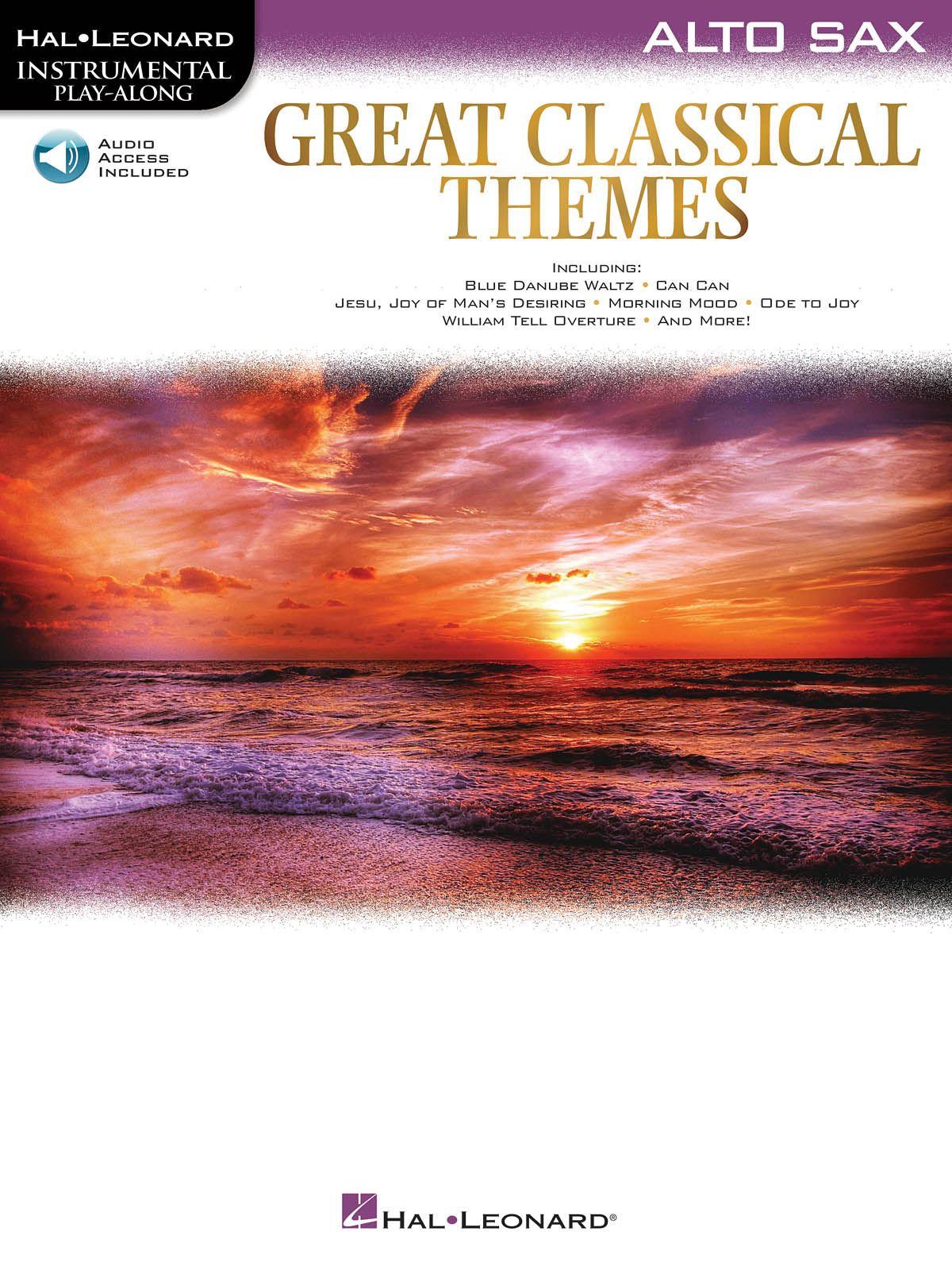 Great Classical Themes: Alto Saxophone: Instrumental Album