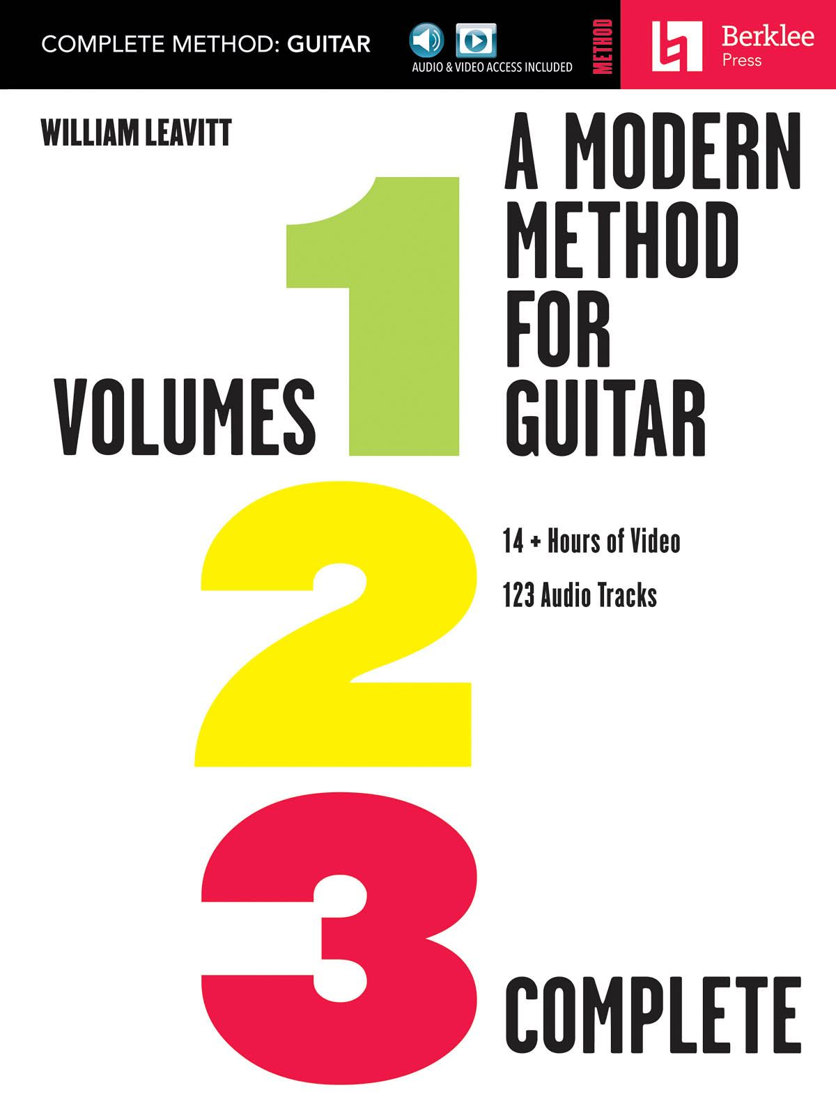 A Modern Method for Guitar - Complete Method: Guitar: Instrumental Tutor