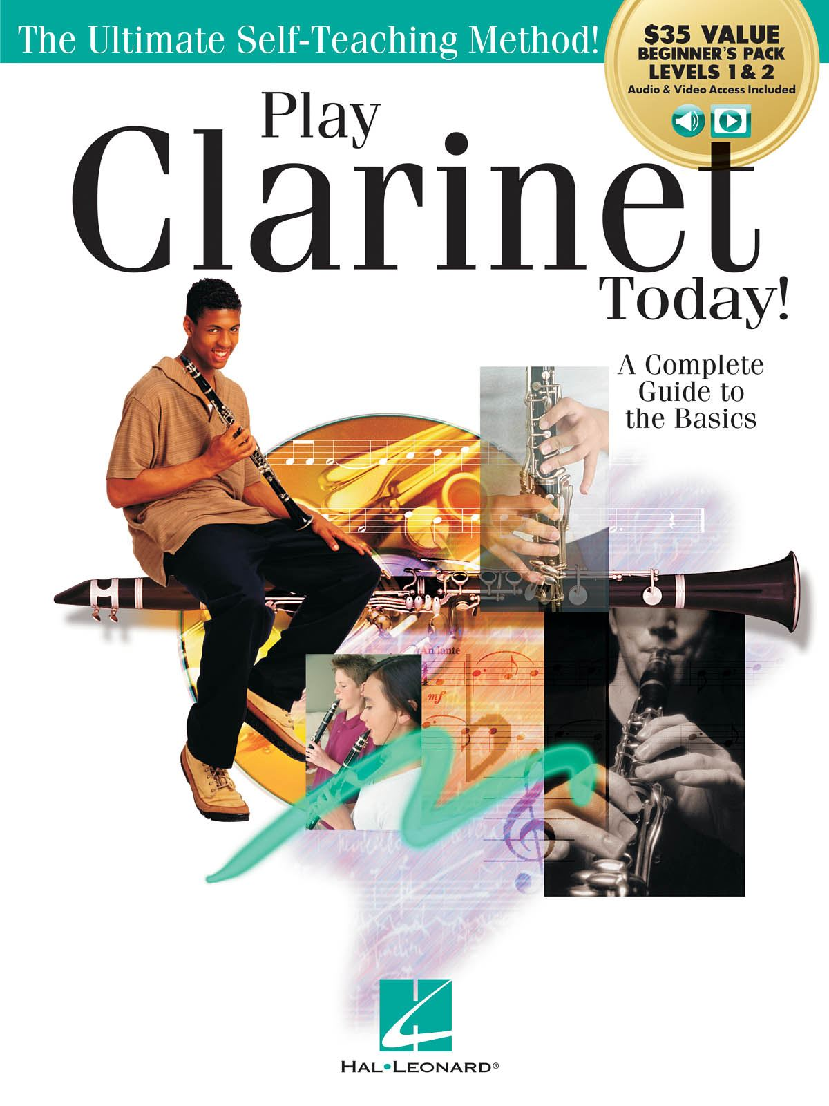 Play Clarinet Today! Beginner's Pack: Clarinet Solo: Instrumental Tutor