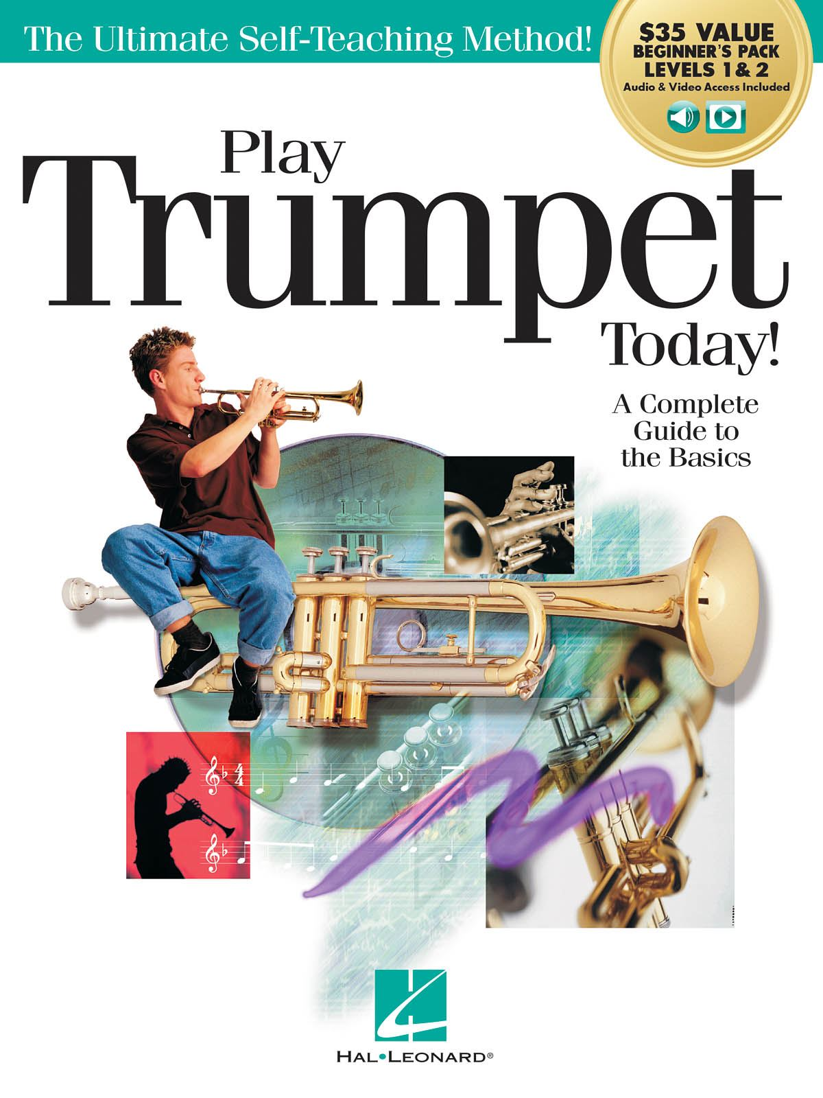 Play Trumpet Today! Beginner's Pack: Trumpet Solo: Instrumental Tutor