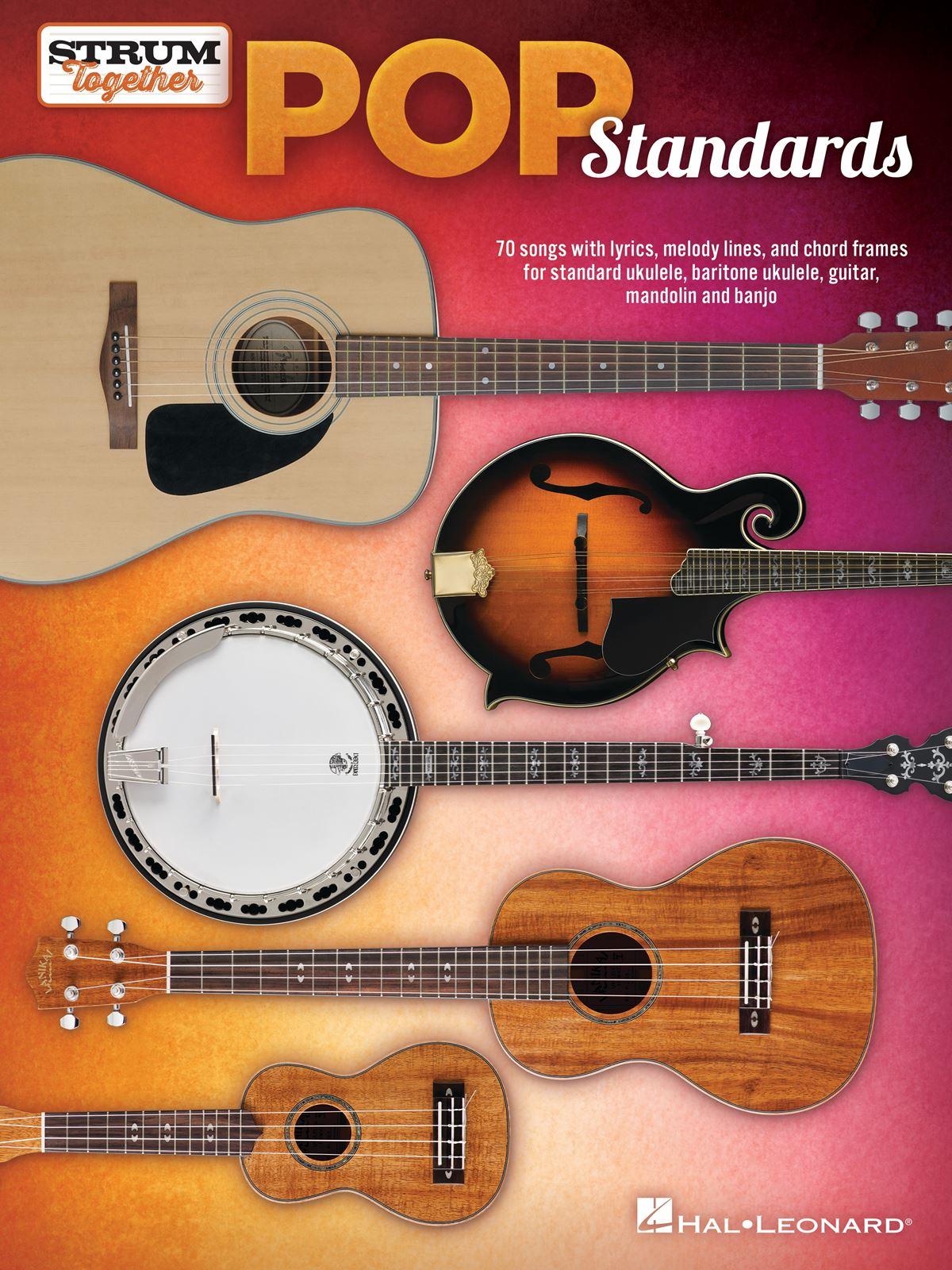 Pop Standards - Strum Together: Guitar Solo: Instrumental Album