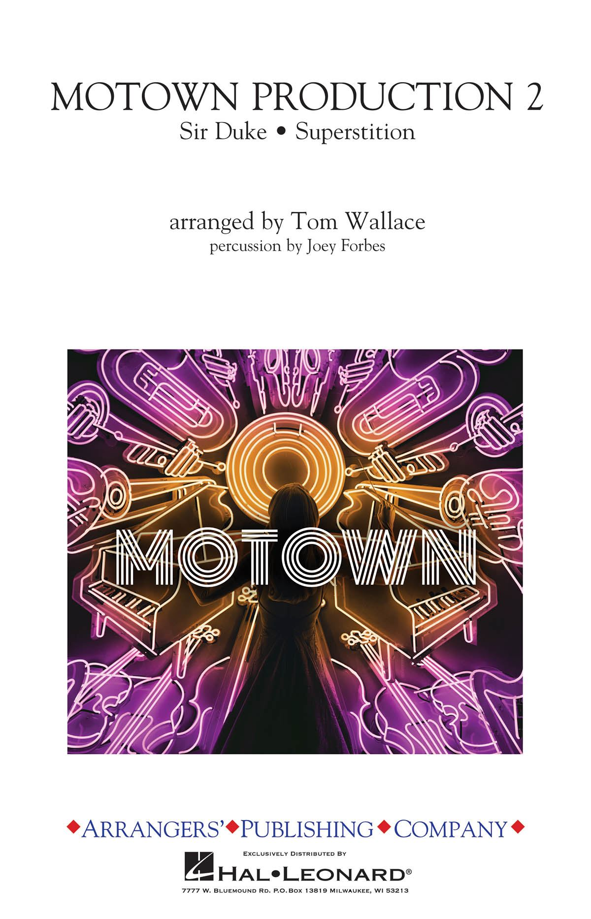 Stevie Wonder: Motown Production 2: Marching Band: Score and Parts