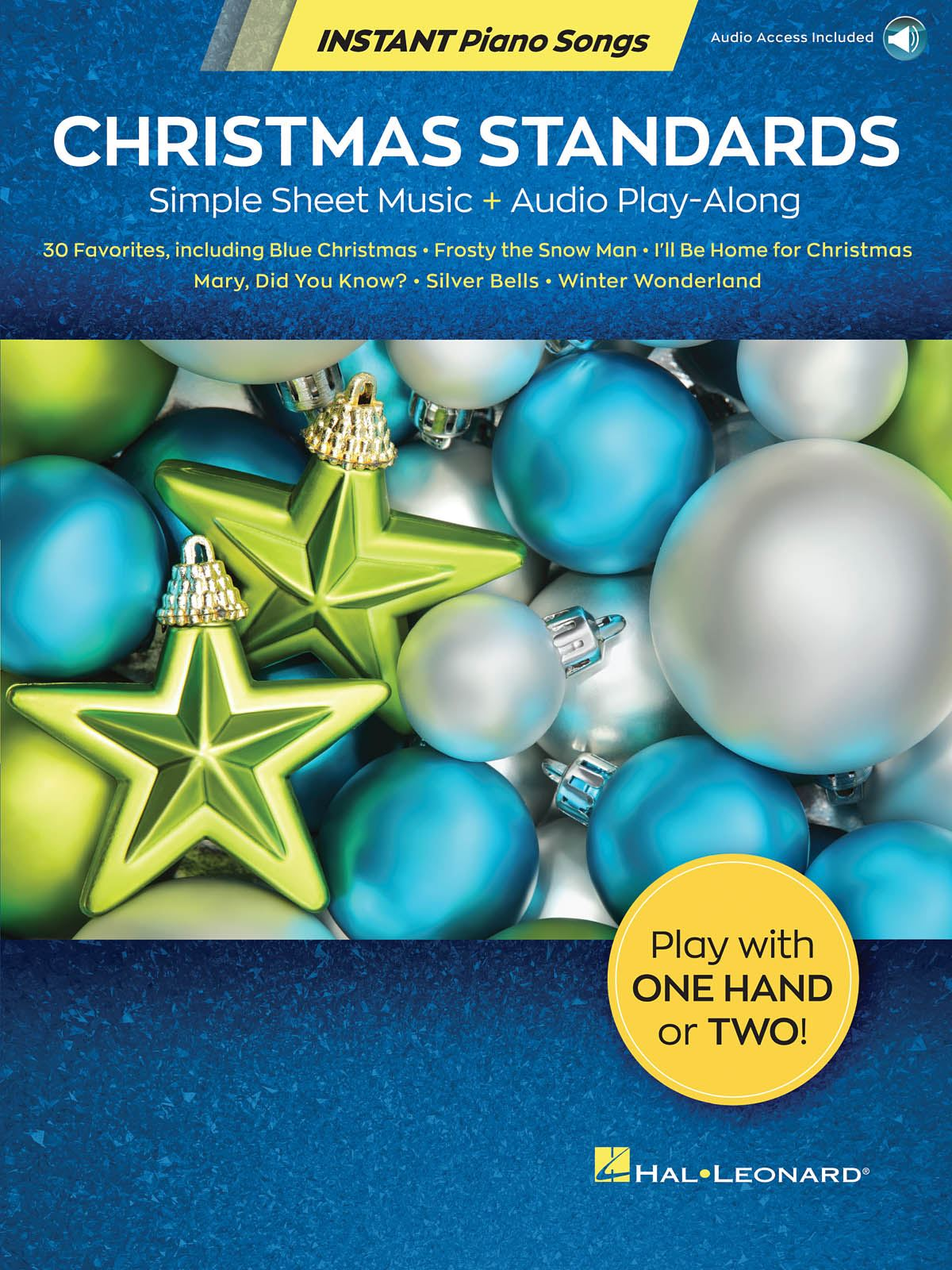 Christmas Standards - Instant Piano Songs: Piano Solo: Instrumental Album