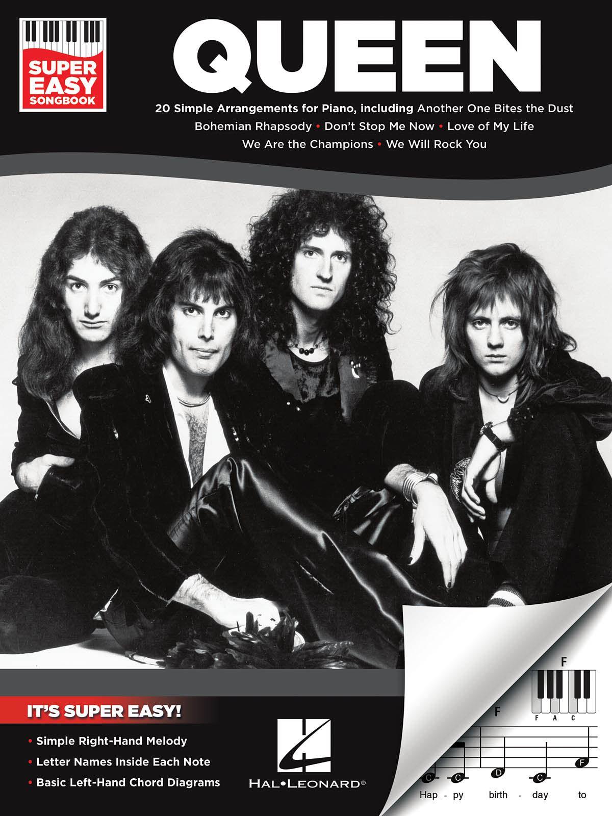 Queen: Queen - Super Easy Songbook: Piano: Album Songbook