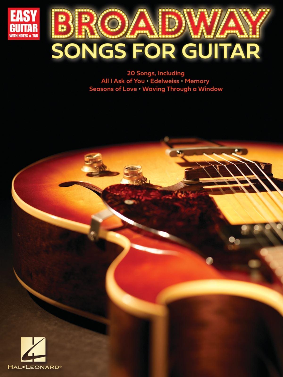 Broadway Songs for Guitar: Guitar Solo: Instrumental Album