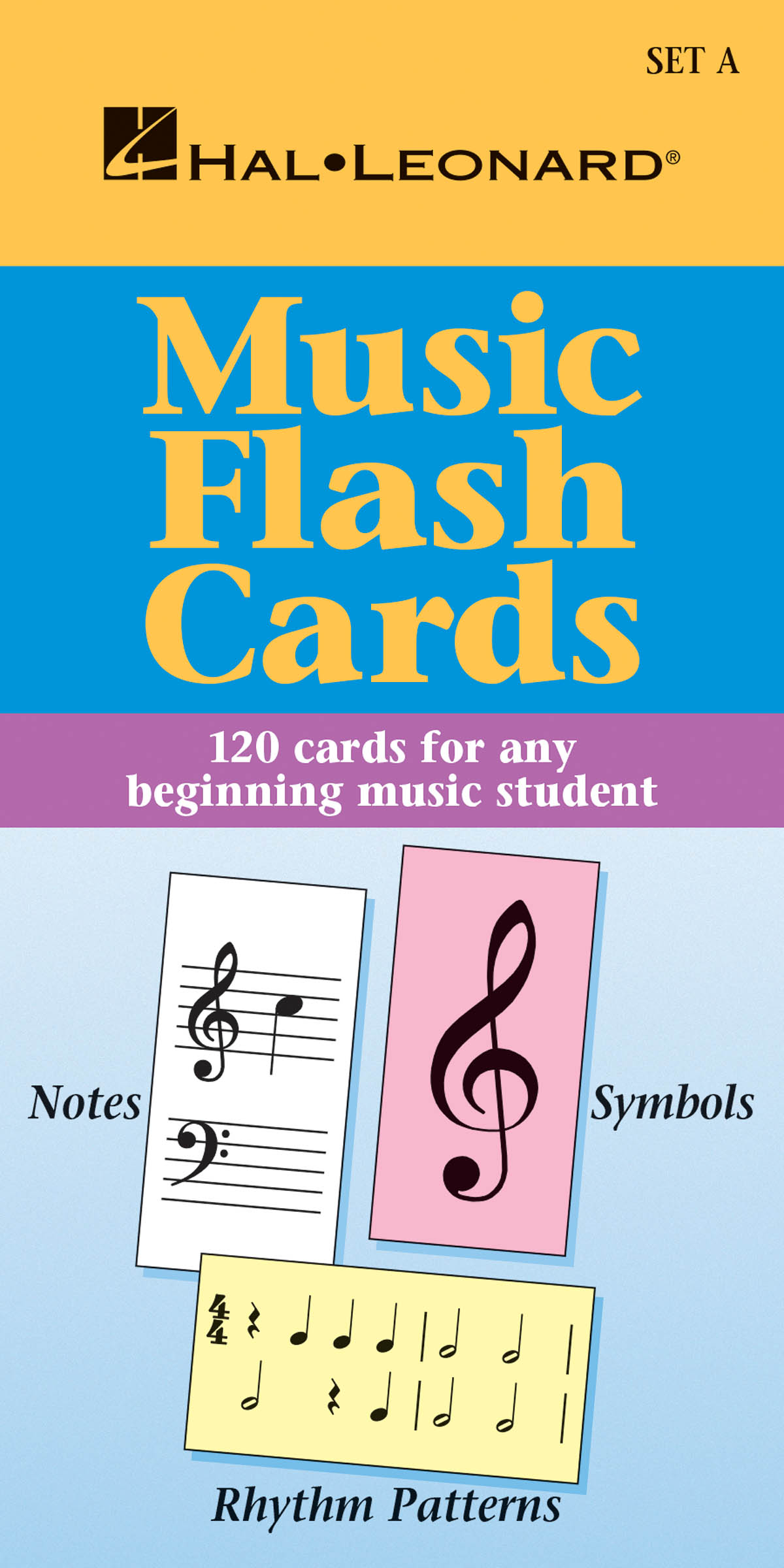 Music Flash Cards - Set A: Piano: Theory