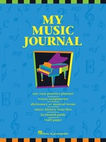 My Music Journal - Student Assignment Book: Piano: Stationery