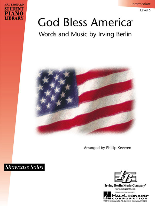 Irving Berlin: God Bless America®: Piano: Instrumental Album