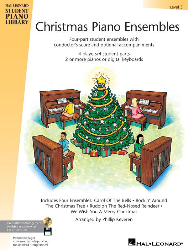 Christmas Piano Ensembles - Level 3 Book: Piano: Instrumental Tutor