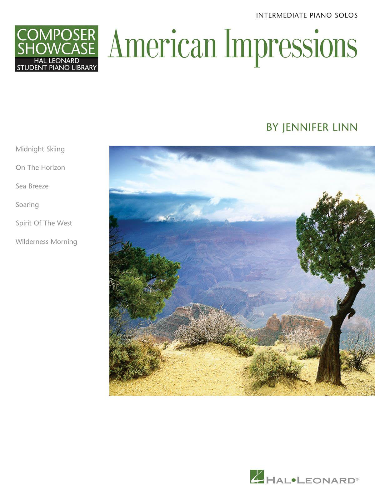 Jennifer Linn: Jennifer Linn - American Impressions: Piano: Instrumental Album