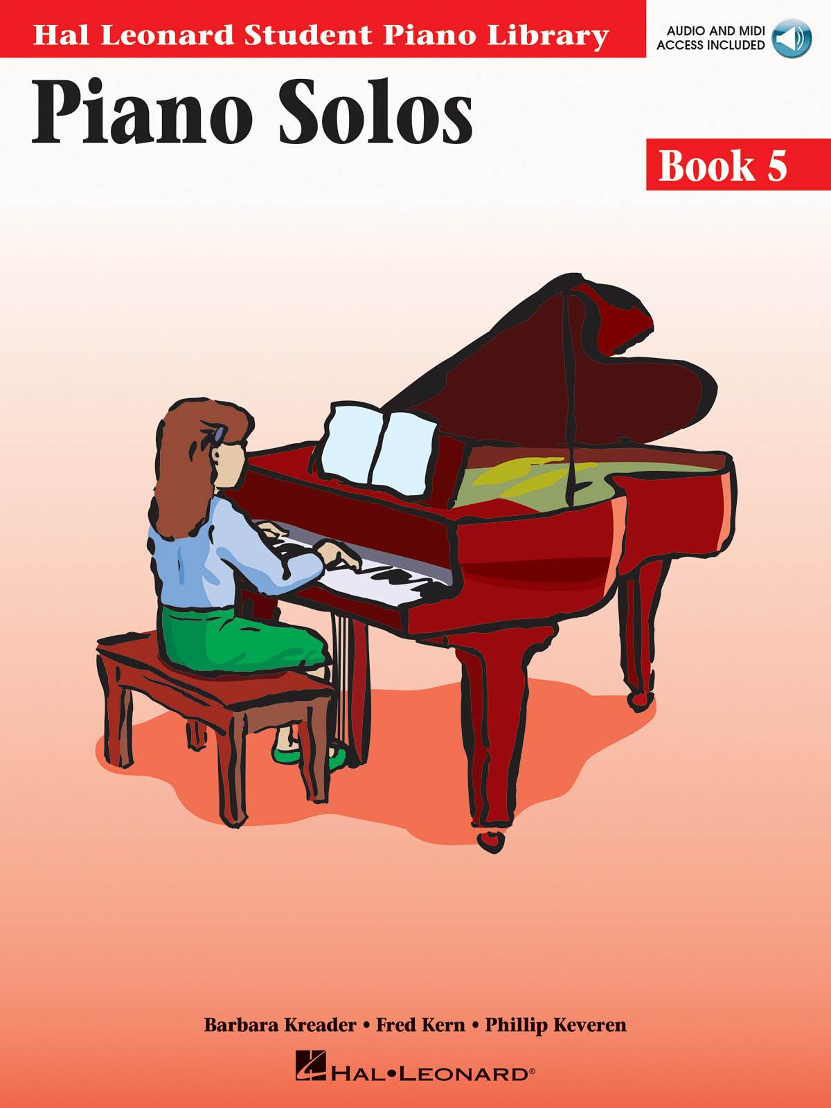 Barbara  Kreader: Piano Solos Book 5: Piano: Instrumental Album