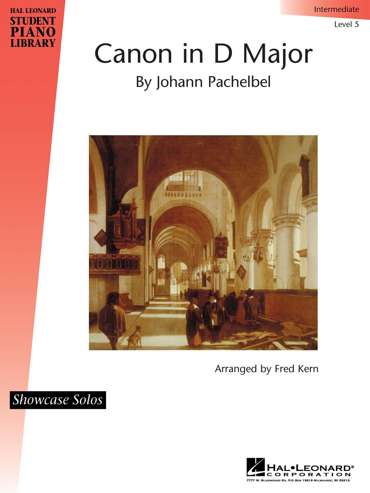 Johann Pachelbel: Canon in D Major: Piano: Instrumental Album