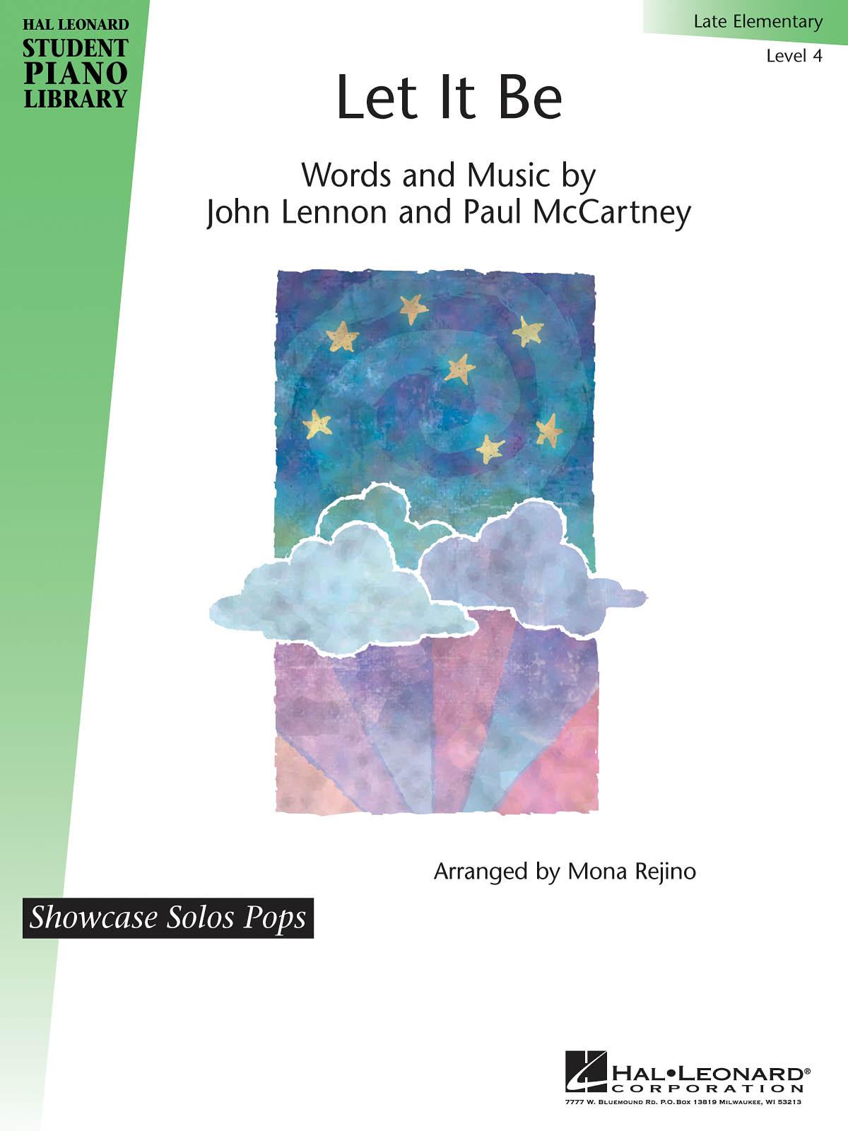 John Lennon Paul McCartney: Let It Be: Piano: Instrumental Album