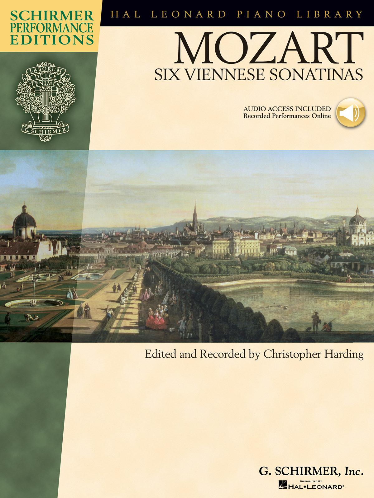 Wolfgang Amadeus Mozart: Mozart - Six Viennese Sonatinas: Piano: Instrumental