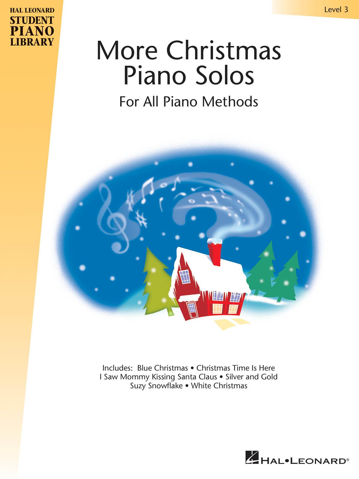 More Christmas Piano Solos - Level 3: Piano: Instrumental Album