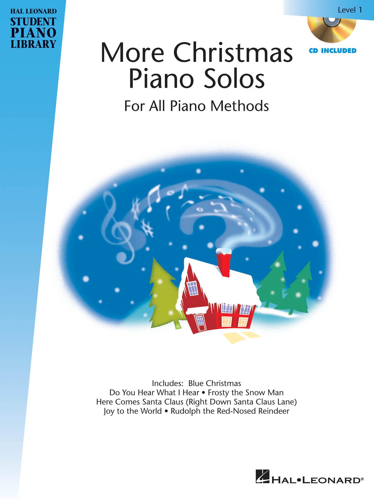 More Christmas Piano Solos - Level 1: Piano: Instrumental Album