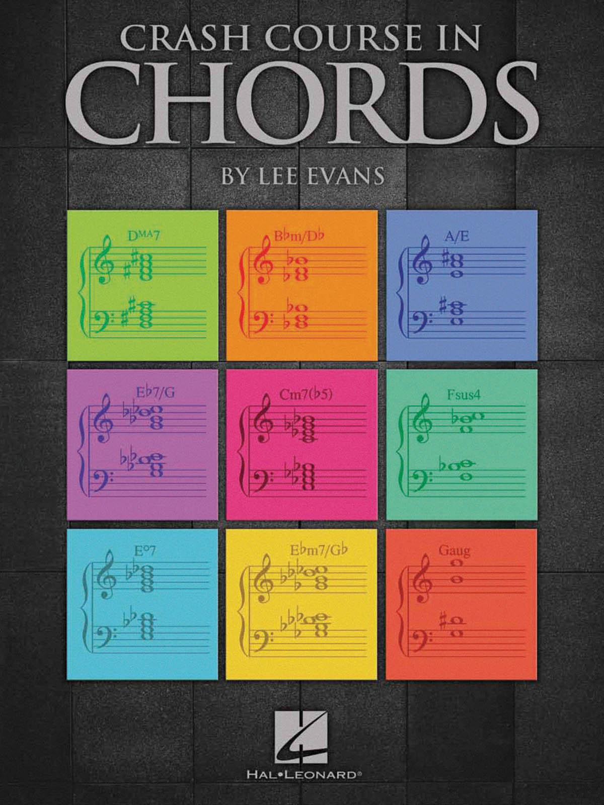 Lee Evans: Crash Course In Chords: Piano: Reference