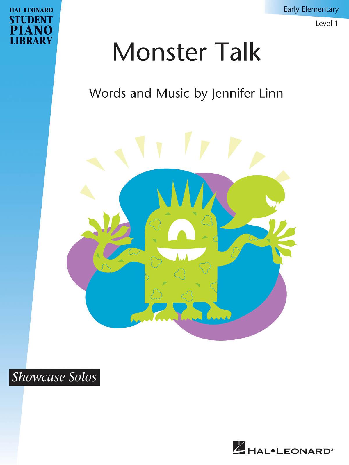 Jennifer Linn: Monster Talk: Piano: Instrumental Album