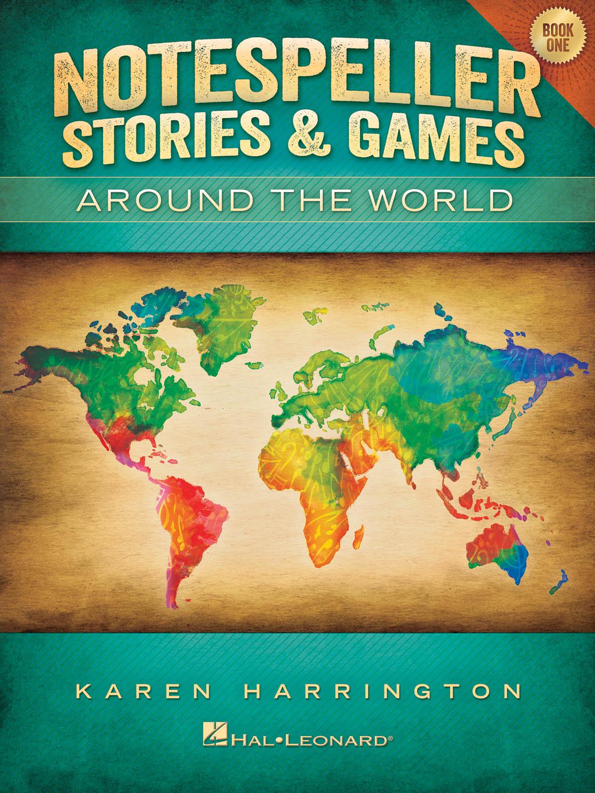 Notespeller Stories & Games - Book 1: Piano: Instrumental Album
