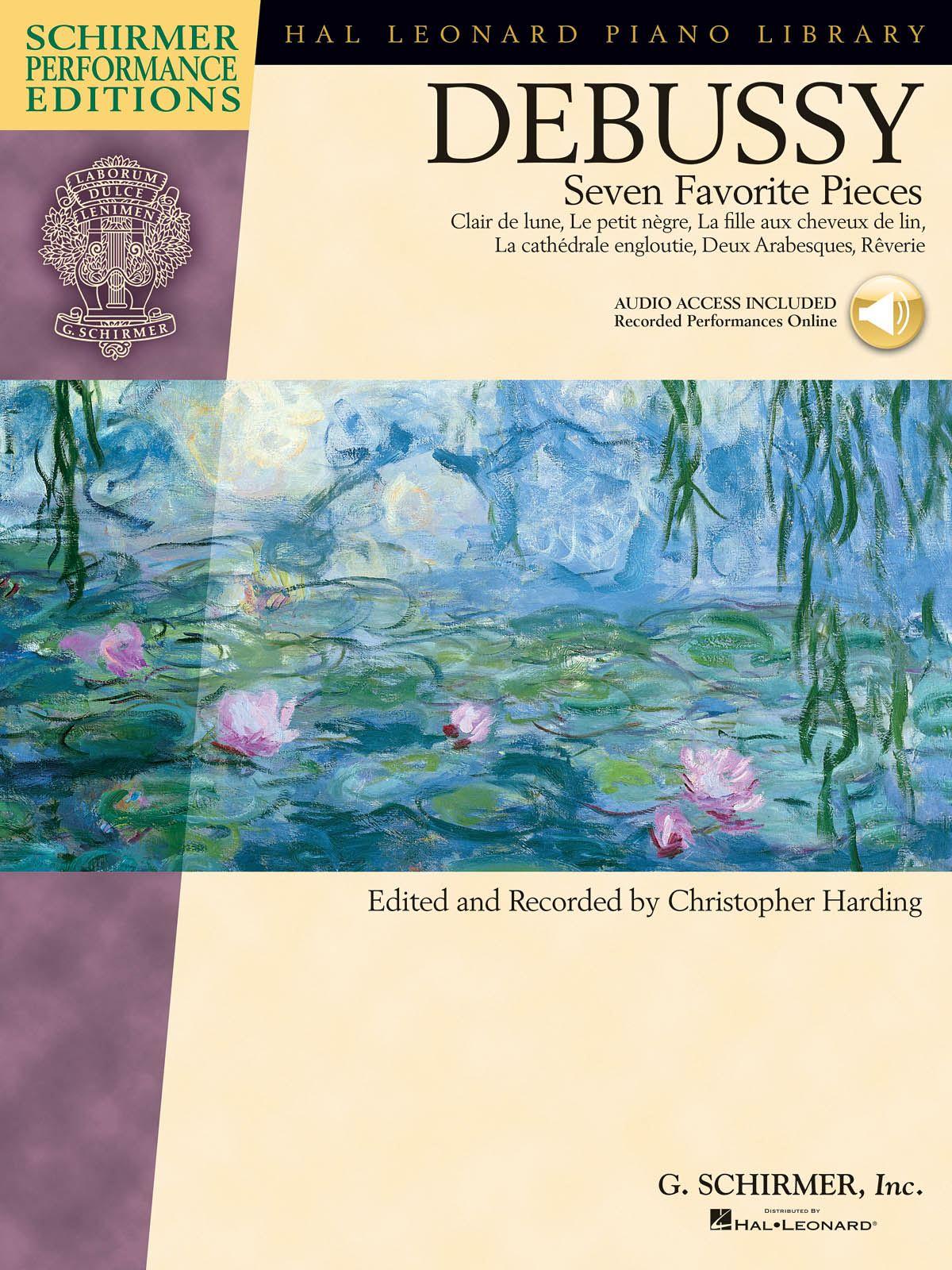 Claude Debussy: Claude Debussy - Seven Favorite Pieces: Piano: Instrumental