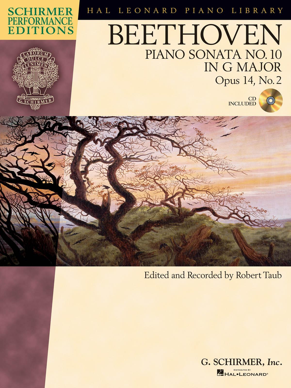 Ludwig Van Beethoven: Piano Sonata No.10 In G Op.14 No.2 (Schirmer Performance Edition) (Schirmer Performance Editions)