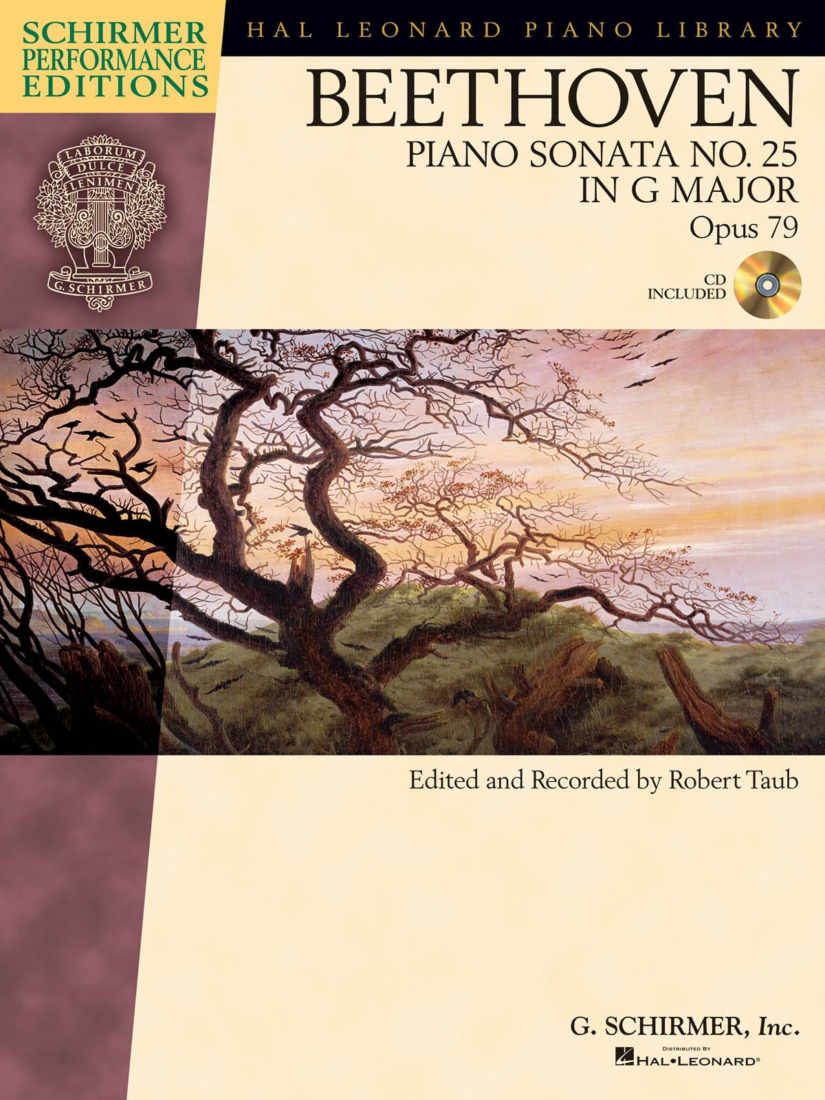 Ludwig Van Beethoven: Piano Sonata No.25 In G Op.79 (Schirmer Performance Edition) (Schirmer Performance Editions)