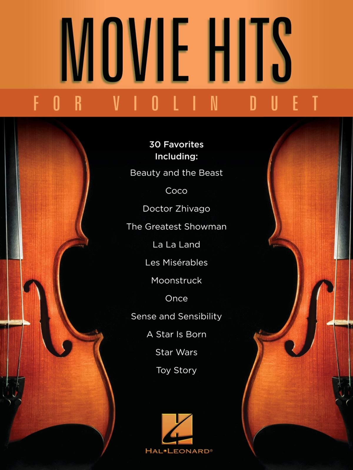 Movie Hits for Violin Duet: Mixed String Duet: Instrumental Album