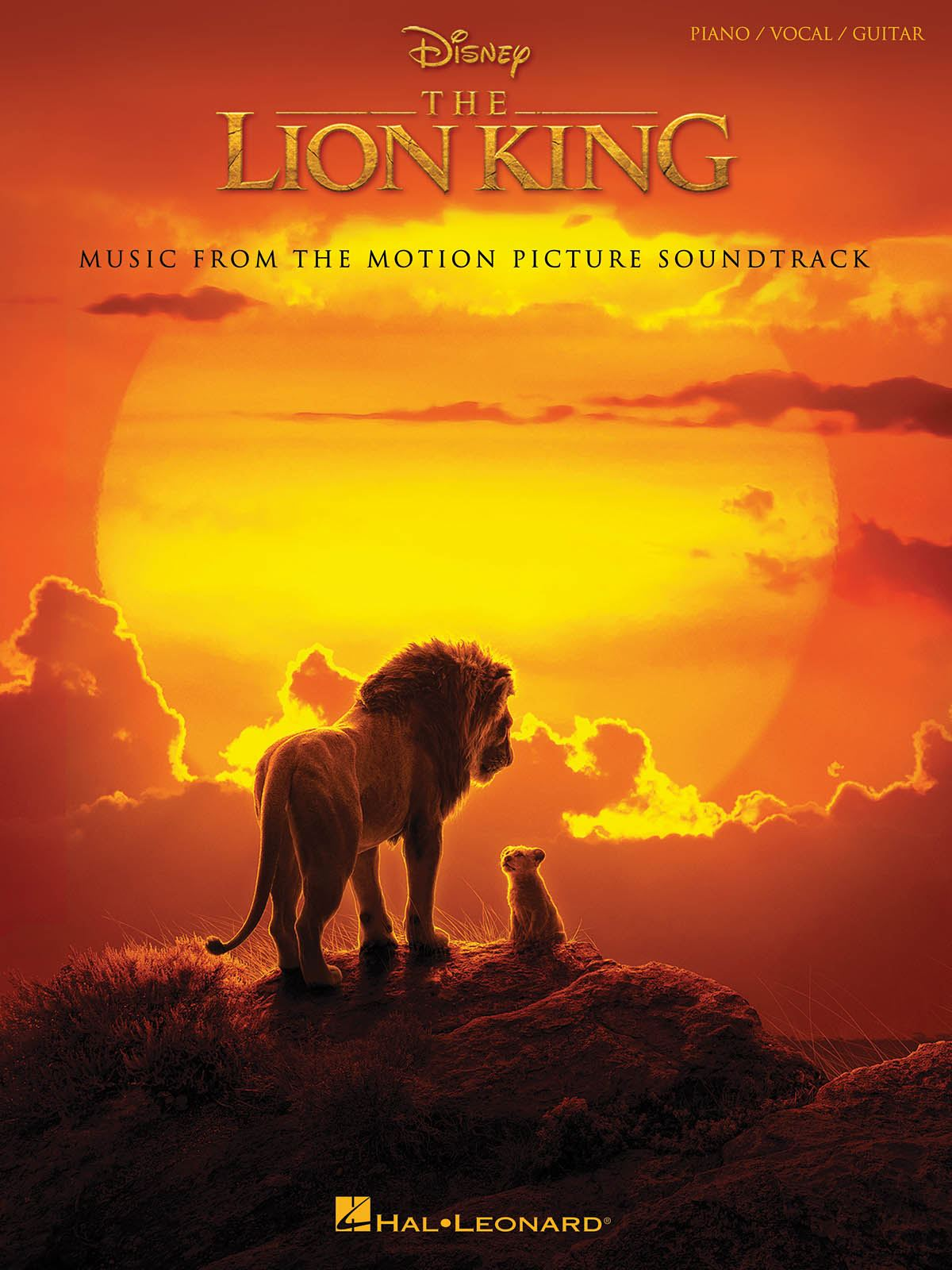 Elton John Tim Rice Hans Zimmer: The Lion King: Piano  Vocal and Guitar: Album