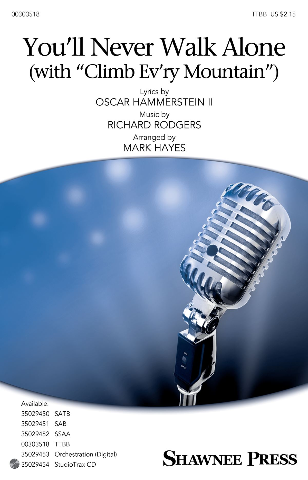 Oscar Hammerstein II Richard Rodgers: You'll Never Walk Alone: Lower Voices a