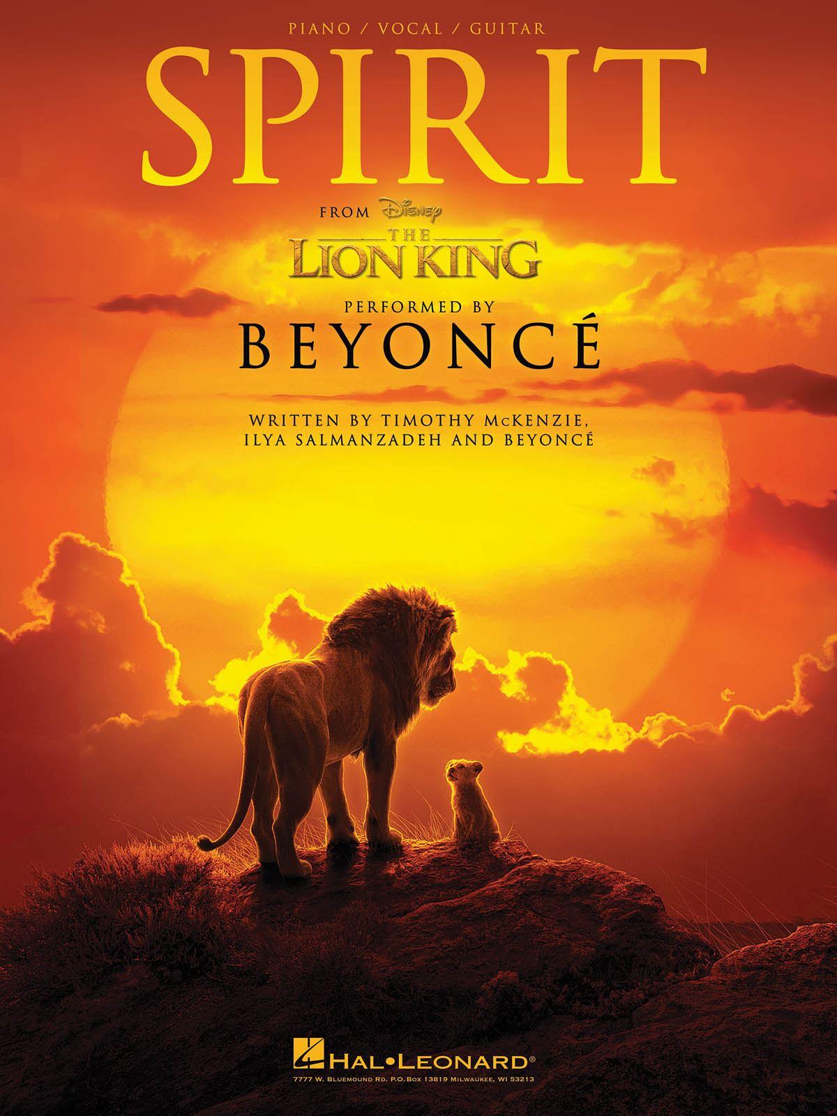 Timothy McKenzie Ilya Salmanzadeh Beyoncé Knowles: Spirit - from The Lion King: