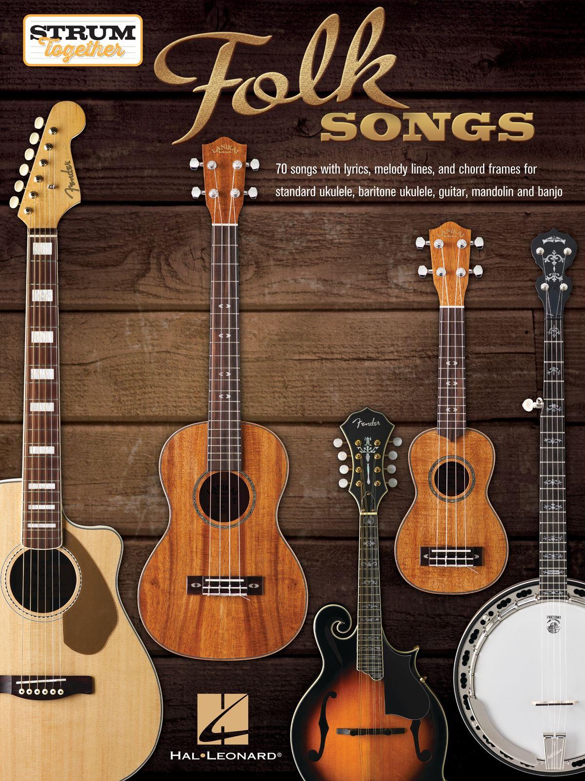 Folk Songs - Strum Together: Banjo: Instrumental Collection