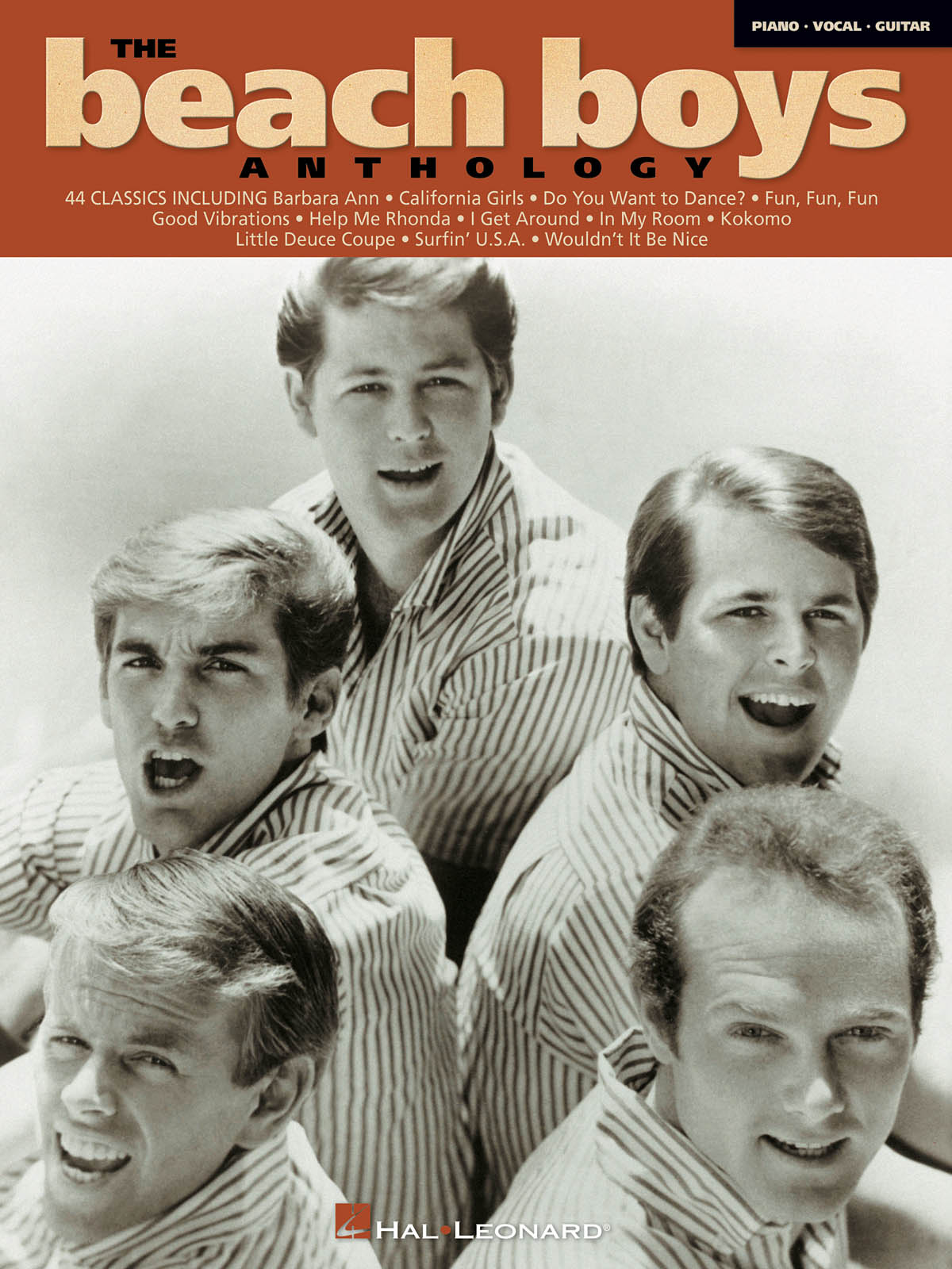 Beach Boys: The Beach Boys Anthology: Piano  Vocal and Guitar: Vocal Album