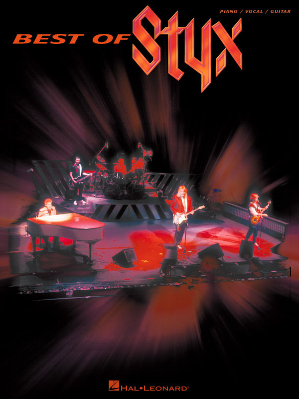 Styx: Best of Styx: Piano  Vocal and Guitar: Mixed Songbook