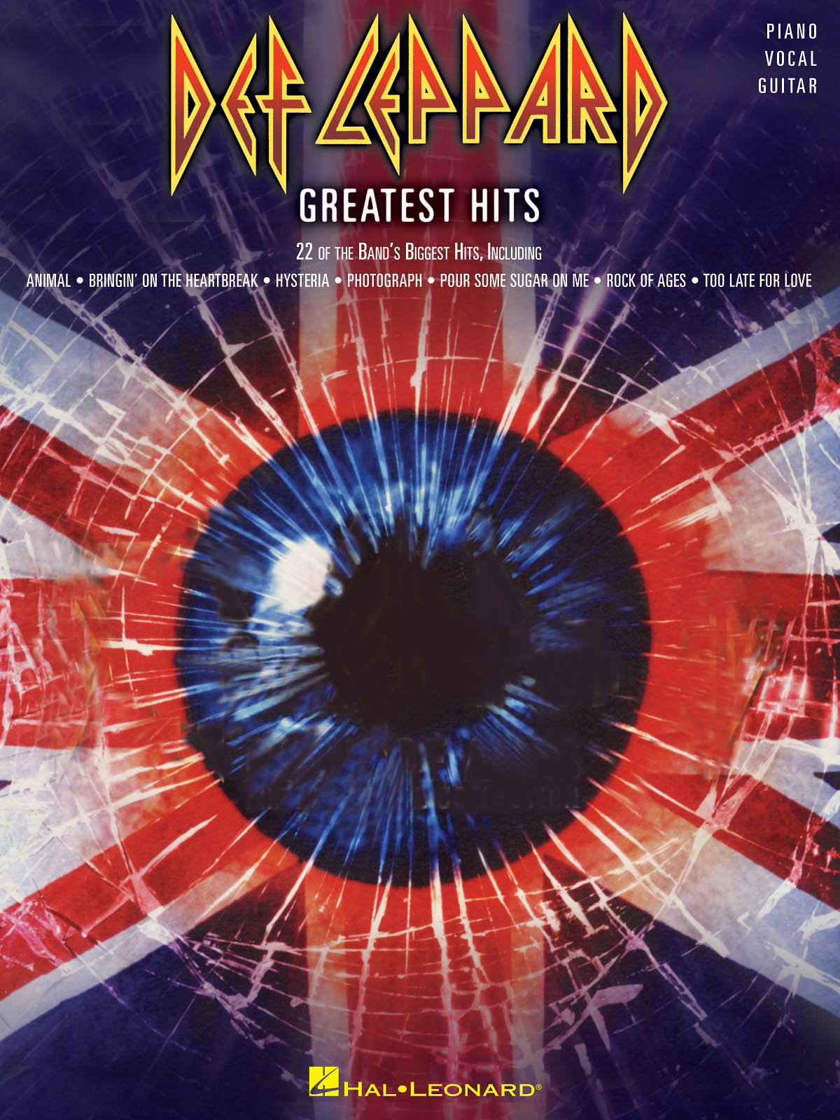 Def Leppard: Def Leppard - Greatest Hits: Piano  Vocal and Guitar