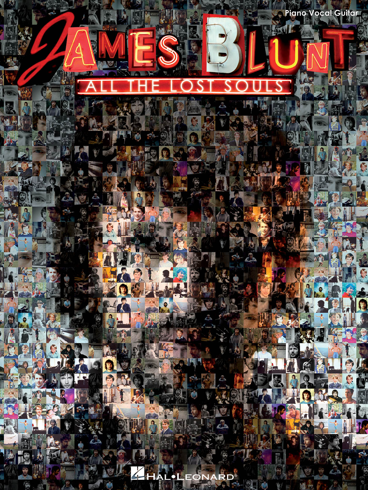 James Blunt: James Blunt - All The Lost Souls: Piano  Vocal and Guitar: Album