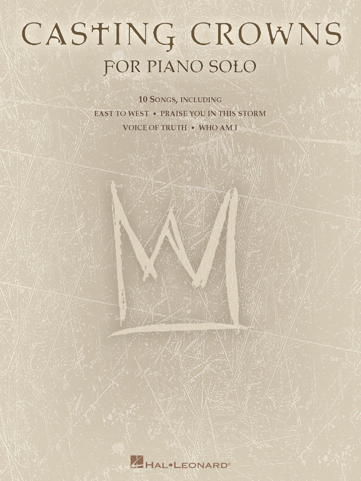 Casting Crowns: Casting Crowns for Piano Solo: Piano: Instrumental Album