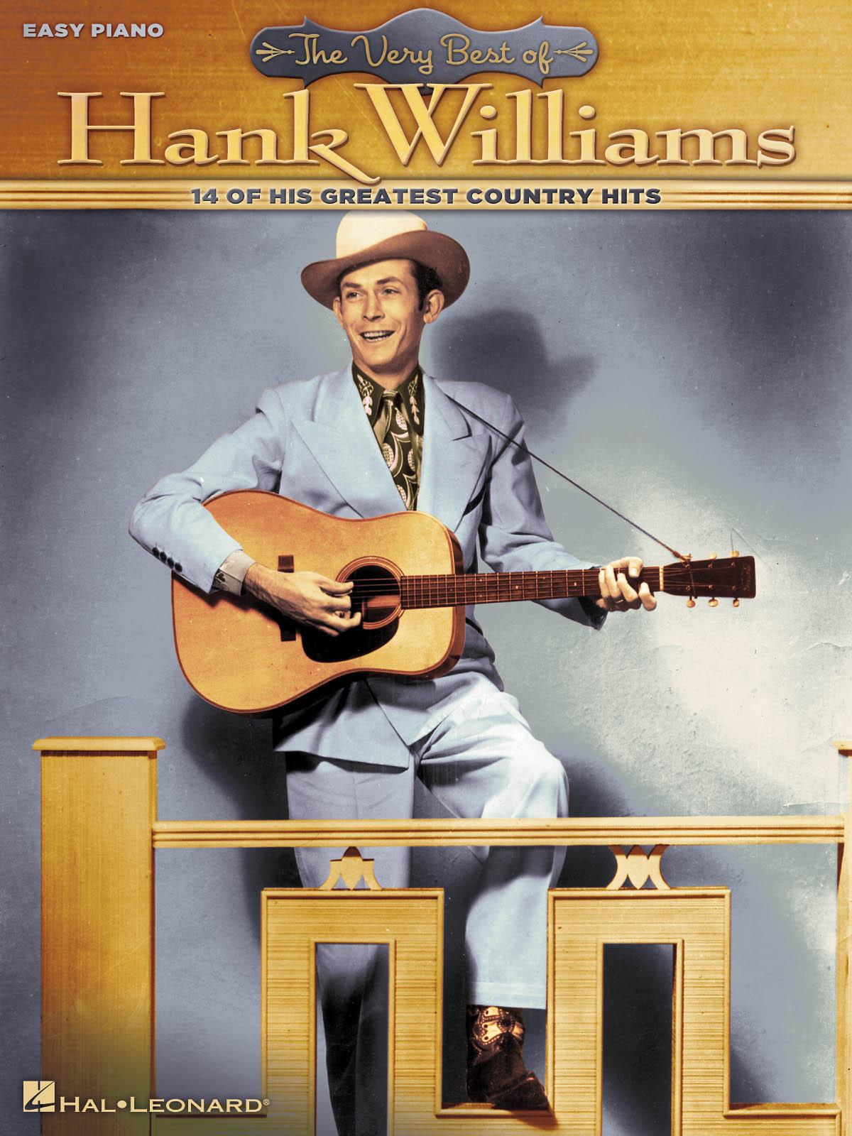 : The Very Best of Hank Williams: Easy Piano: Instrumental Album